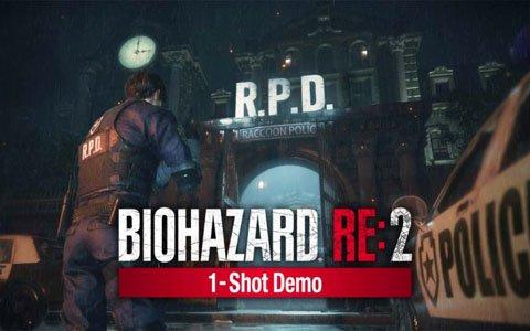 「バイオハザード RE:2」30分の極限サバイバル「1-Shot Demo」が1月11日より配信!