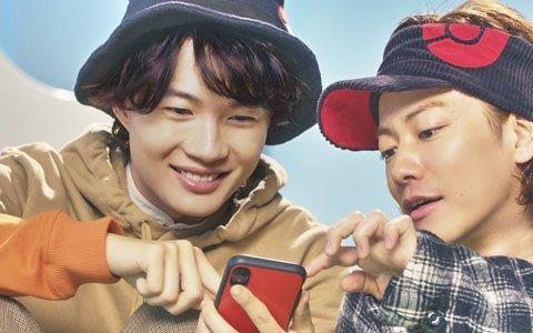 佐藤健さんと神木隆之介さんが仲良く「Pokémon GO」を遊ぶCMが放映開始!
