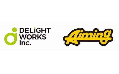 ディライトワークスとAimingが業務および資本提携を実施―スマホ向け新作タイトルを共同で開発
