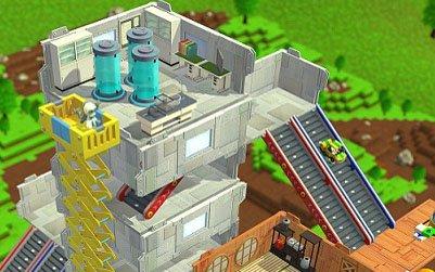 """「ニンジャボックス」高層建築や上空へ続く階段など""""ヒミツキチ""""の最新スクリーンショットが公開!"""