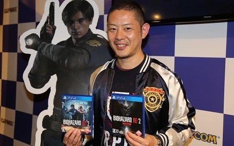 神田プロデューサーも駆けつけた「バイオハザード RE:2」の発売記念イベントをレポート!