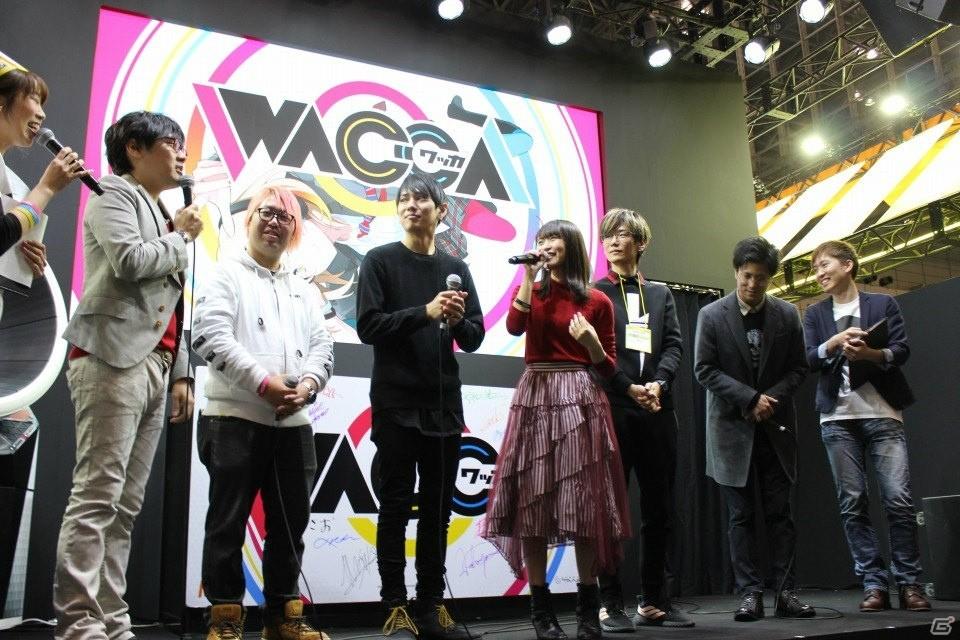 【JAEPO2019】マーベラスの新作リズムゲーム「WACCA」スペシャルステージに大西沙織さんが登場!自身が歌唱する楽曲で先行プレイ