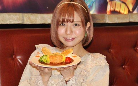 現役アークス・天野名雪さんがコラボメニューに舌鼓!「PSO2アークスカフェ2019」試食会をレポート