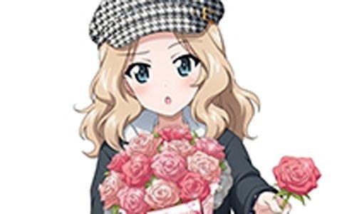 「ガールズ&パンツァー 戦車道大作戦!」バレンタイン衣装の秋山優花里やケイが登場!