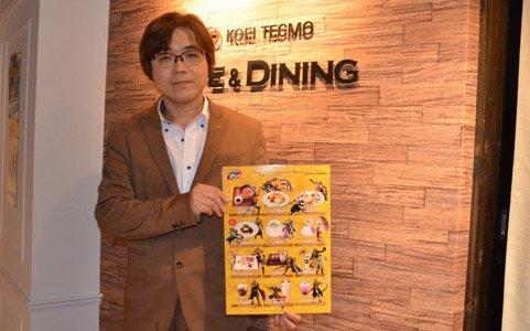 「戦国無双」シリーズ15周年コラボカフェ取材レポート&鯉沼久史氏へのショートインタビュー
