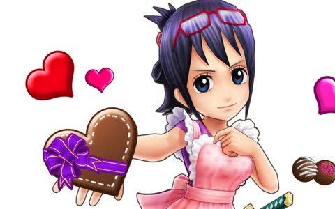 「ONE PIECE サウザンドストーム」新衣装のたしぎとビビが登場する「バレンタイン大争奪戦'19」が開催!
