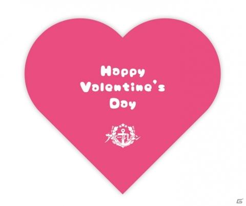 二つ折り仕様のバレンタインカードをプレゼント!誰からのメッセージが書いてあるかはお楽しみに!