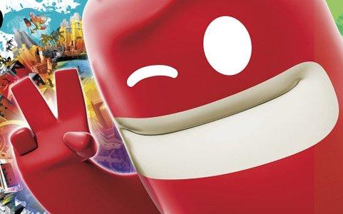 ぬりえアクション「ブロブ カラフルなきぼう リターンズ(de Blob 2)」がSwitchで2019年2月21日に発売