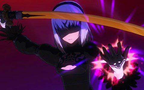 「刀使ノ巫女 刻みし一閃の燈火」NieR:Automata限定ピックアップ召集第2弾が開始!