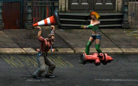 【そそそのダウンロードゲームれこめんど】第2回:「Raging Justice」は古き良きアーケードアクション!暴力で全て解決!?
