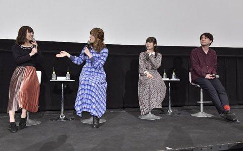 「ナナシス」日本武道館メモリアルライブBlu-ray先行上映会より舞台挨拶イベントのオフィシャルレポートが到着