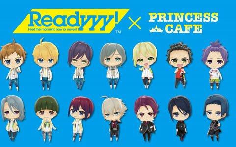 「Readyyy!」2月20日よりプリンセスカフェにてコラボカフェが開催!