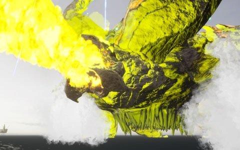 「EARTH DEFENSE FORCE: IRON RAIN」大山竜氏が手掛ける超巨大生物・ラズニードなどの新情報が公開!