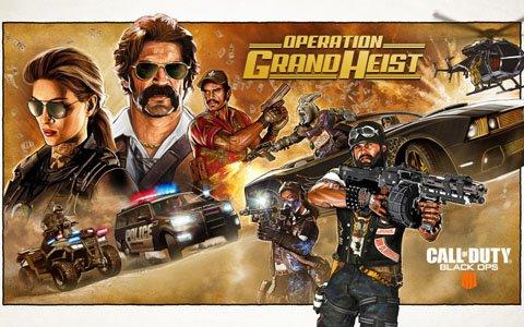 「CoD BO4」追加コンテンツ「Operation Grand Heist」が配信開始!スペシャリスト「Outrider」が追加