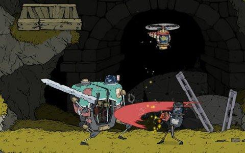 手書き風グラフィックが魅力のアクションRPG「ブリキの騎士」がSwitch向けに配信!