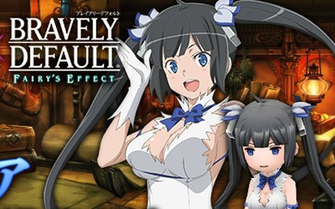 「BRAVELY DEFAULT FAIRY'S EFFECT」ヘスティア装備が入手可能な劇場版「ダンまち」とのコラボ開始!
