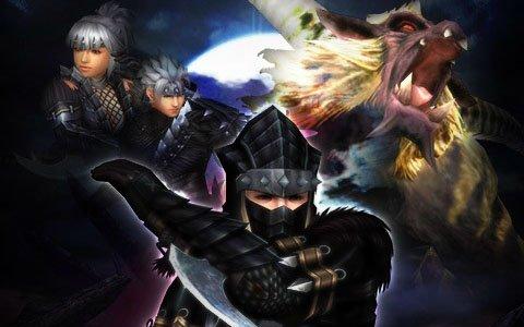 「モンスターハンター フロンティアZ」2月22日は「忍者の日」!忍者モチーフの外装入手イベントが開催