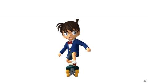 Switch向けスケボーランアクション「名探偵コナン スケボーラン 怪盗キッドと神秘の秘宝」がDL専用で4月に発売!