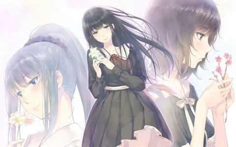 百合系ミステリィADV「FLOWERS」シリーズが1つになった「FLOWERS 四季」が3月7日にPS4で発売!