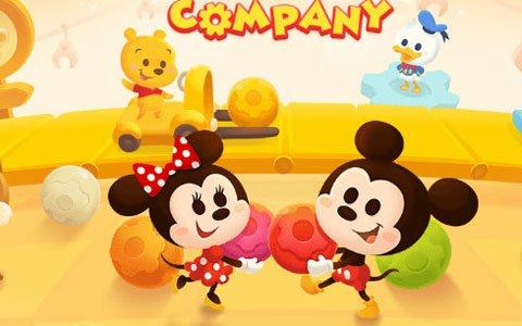 LINEとディズニーが共同開発したスライドパズル「LINE:ディズニー トイカンパニー」の事前登録がスタート