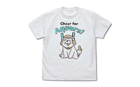 「ラブライブ!サンシャイン!!」千歌の愛犬・しいたけのぬいぐるみキャップとTシャツが登場!