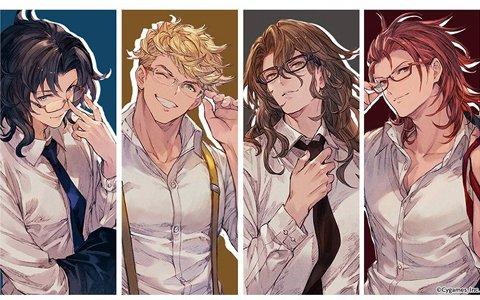 「グランブルーファンタジー」四騎士をイメージしたコラボ眼鏡の一般販売が開始!