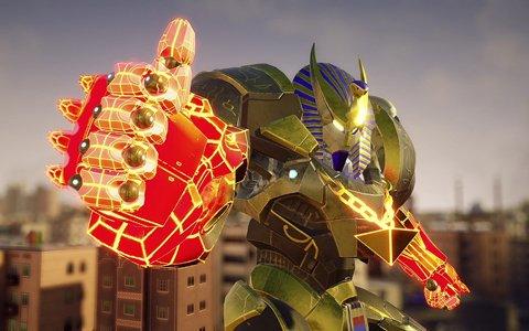 「オーバーライド 巨大メカ大乱闘」メカをカスタマイズできるガレージシステムの情報が公開!