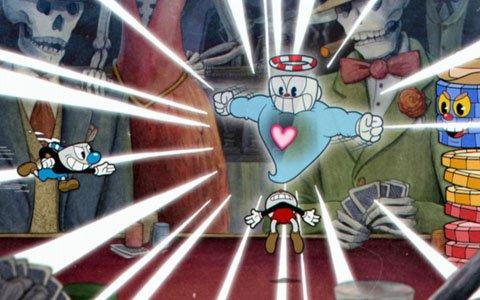 アニメーション表現を取り込んだシューティングアクション「Cuphead」がNintendo Switchで4月18日にリリース!