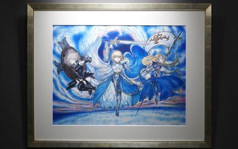 天野喜孝氏と「Fate/Grand Order」がコラボレーション!「プレミアムギャラリー」特設ページがオープン