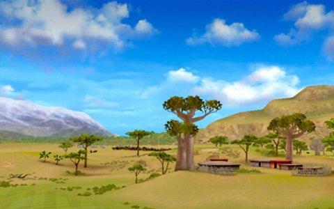 「みんゴル」大自然のなかに作られた新コース「サバンナワイルドリゾート」が登場!