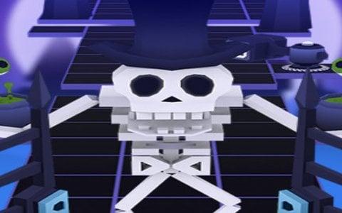 ミュージックパルクールゲーム「ローリングスカイ」のSwitch版が4月12日にリリース!