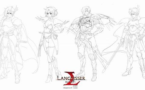 「ラングリッサー モバイル」主要キャラの原画が公開!陸プロデューサーへのインタビューも掲載
