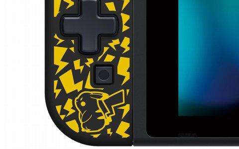 Switch用「携帯モード専用 十字コン(L)」にスーパーマリオ、ゼルダの伝説、ピカチュウの3デザインが登場