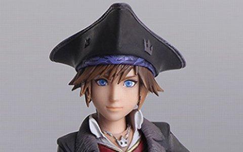 「KH III」よりカイリ、アクセル、海賊姿のソラがブリングアーツになって発売決定!