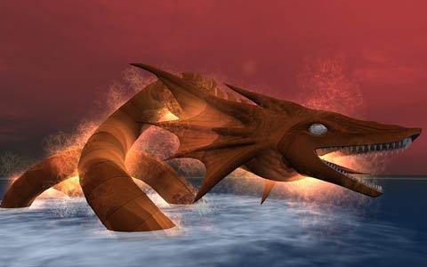 「大航海時代 Online」幻獣「灼熱のリヴァイアサン」が登場するアップデートが4月16日に実施!