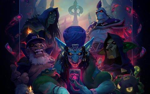 「ハースストーン」の最新拡張版「爆誕!悪党同盟」が配信!ログインで「大魔術師ヴァルゴス」が配布