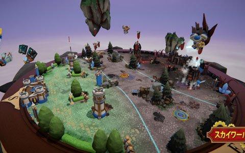 クラシックなRTSがミニチュア世界で展開するVR戦略ゲーム「Skyworld」がPS VR向けに4月18日発売決定!