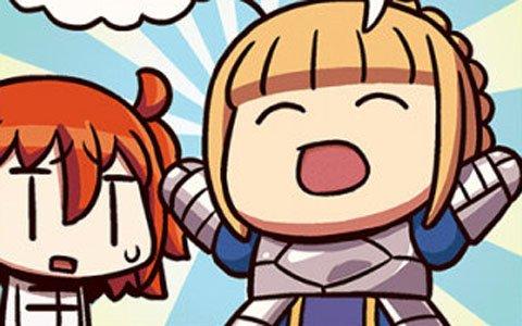 セイバー(ライダー)と主人公が宝具カードの扱いを解説!「ますますマンガで分かる!Fate/Grand Order」第88話が公開
