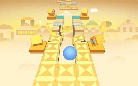 Switch版「ローリングスカイ」が発売!ボールを操って先へ進むミュージックパルクールゲーム