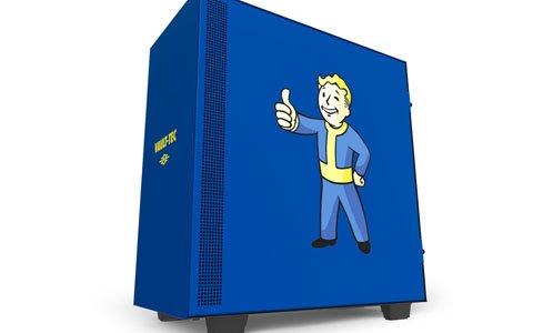 「Fallout」のVault BoyがデザインされたミドルタワーPCケースとマザーボードカバーが5月下旬以降に発売!