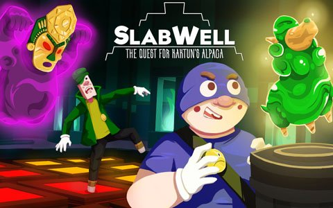 Switch「SlabWell」が4月25日より配信!2人での協力プレイも可能なパズルゲーム