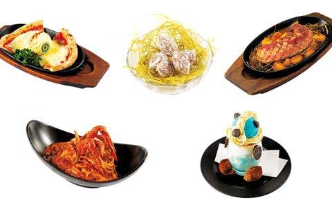 「モンハン酒場」グランドメニューがリニューアル!ディアブロスが潜むラテやイャンクックを再現したピザが登場