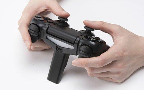 操作時の手ぶれを防いでエイミングの精度を向上!「CYBER・FPSスナイパースタンド(PS4用)」が4月27日に発売