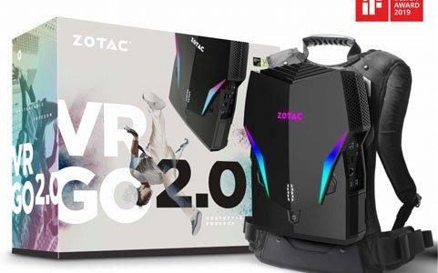 ケーブルを気にせずVRを楽しむためのバックパック型PC「VR GO 2.0」が発売!