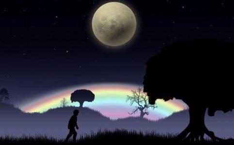 月明かりの道を歩くアドベンチャーゲーム「ブルームーン」Switch版が本日発売!