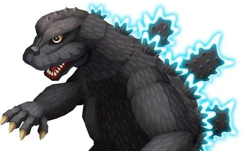 各年代のゴジラと怪獣が70体以上登場する「ゴジラ ディフェンスフォース」が配信!