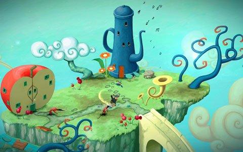 PS4「Figment」幻想的な雰囲気を楽しめるテーマとテーマセットが配信!