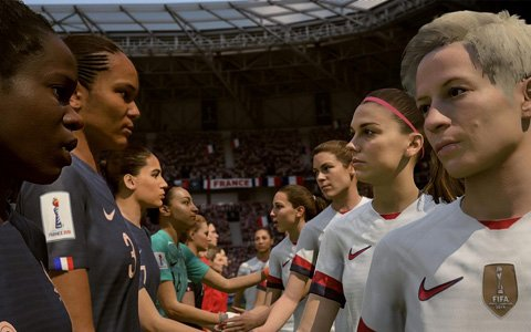 「FIFA 19」に2019年FIFA女子ワールドカップが追加!22の女子ナショナルチームが使用可能に