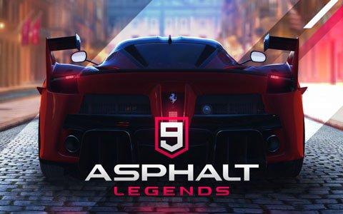 ローカル画面分割プレイなどの新機能も搭載したSwitch版「アスファルト9:Legends」が2019年夏に登場