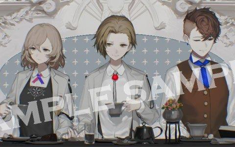 「Caligula -カリギュラ-」コラボカフェの詳細が発表!秋葉原店でのトークイベントには赤羽根健治さんが出演